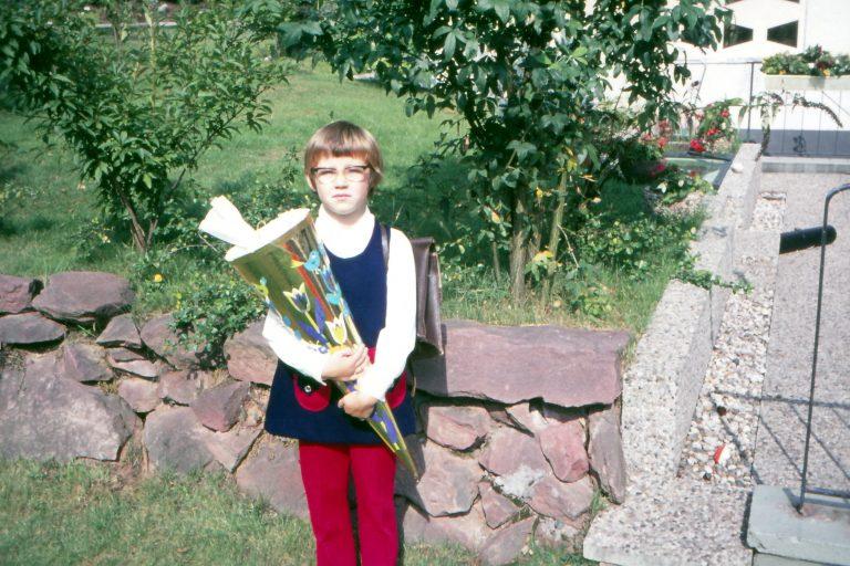 1971_Einschulung mit 6 Jahren